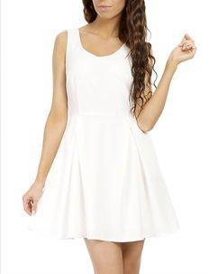 Laura Dress White
