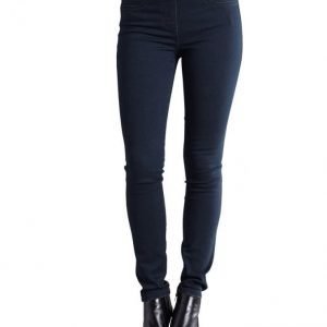 Laura Kent Farkkuleggingsit Blue Black Denim
