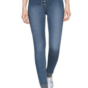Laura Kent Farkkuleggingsit Blue Denim