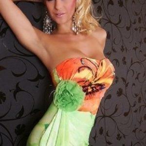 Laurel vihreä mekko (plus size)