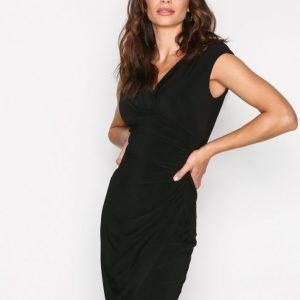 Lauren Ralph Lauren Adara Cap Sleeve Dress Kotelomekko Black