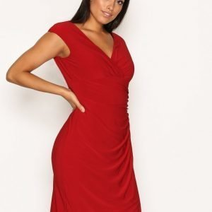 Lauren Ralph Lauren Adara Cap Sleeve Dress Kotelomekko Red