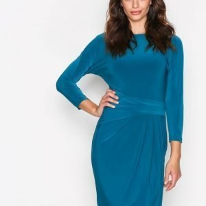 Lauren Ralph Lauren Aletha Dress Kotelomekko Teal