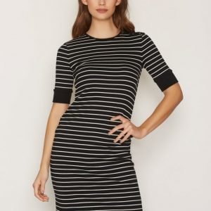 Lauren Ralph Lauren Allandry Dress Loose Fit Mekko Black