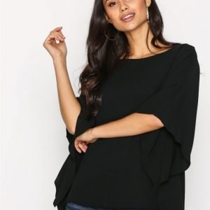 Lauren Ralph Lauren Anielka Shirt Juhlapaita Black