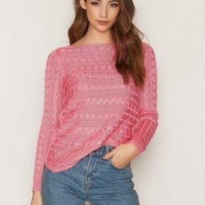 Lauren Ralph Lauren Batell Boatneck Sweater Neulepusero Rose