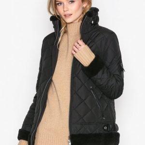 Lauren Ralph Lauren Bomber W Ber-Down Fill Coat Untuvatakki Black