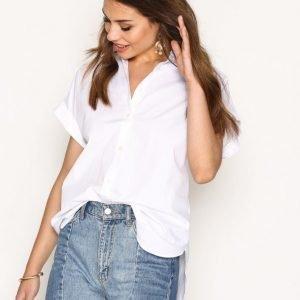 Lauren Ralph Lauren Broono Shirt Kauluspaita White