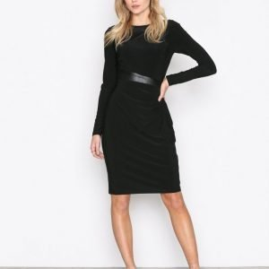 Lauren Ralph Lauren Celeste Long Sleeve Day Dress Kotelomekko Black