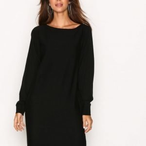 Lauren Ralph Lauren Denessa Long Sleeve Casual Dress Loose Fit Mekko Black