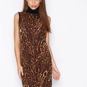 Lauren Ralph Lauren Desalina Sleeveless Turtleneck Dress Loose Fit Mekko Black