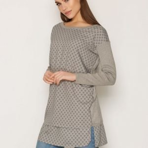 Lauren Ralph Lauren Doehn Long Sleeve Sweater Neulepusero Grey