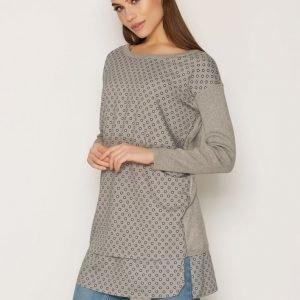 Lauren Ralph Lauren Doehn Long Sleeve Sweater Neulepusero Grey