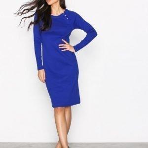 Lauren Ralph Lauren Dramita Casual Dress Loose Fit Mekko Blue