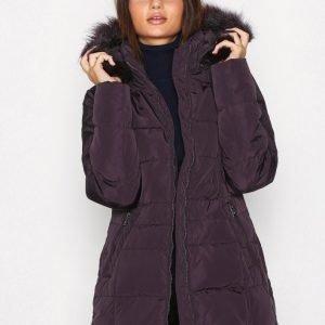 Lauren Ralph Lauren Dwn W Hood-Down Fill Coat Untuvatakki Aubergine