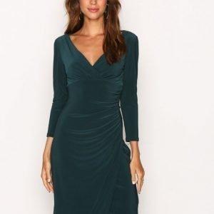 Lauren Ralph Lauren Elsie 3 / 4 Sleeve Day Dress Kotelomekko Wood