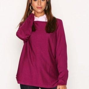 Lauren Ralph Lauren Fintra Long Sleeve Sweater Neulepusero Berry