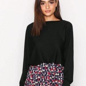 Lauren Ralph Lauren Fintra Long Sleeve Sweater Neulepusero Black