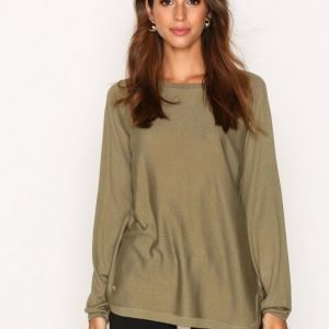 Lauren Ralph Lauren Fintra Long Sleeve Sweater Neulepusero Green