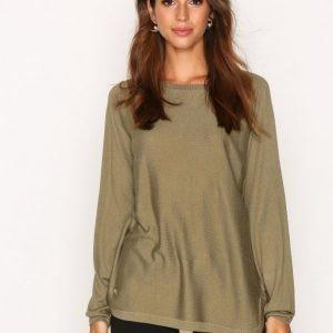 Lauren Ralph Lauren Fintra Long Sleeve Sweater Neulepusero Green