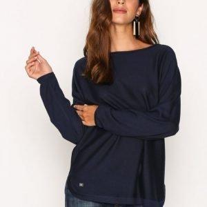 Lauren Ralph Lauren Fintra Long Sleeve Sweater Neulepusero Navy
