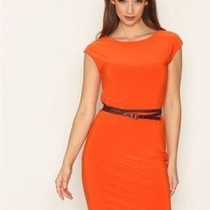 Lauren Ralph Lauren Januth Dress Loose Fit Mekko Oranssi
