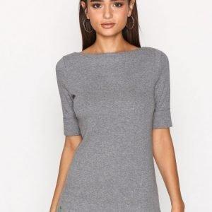 Lauren Ralph Lauren Judy Elbow Sleeve Knit Neulepusero Grey