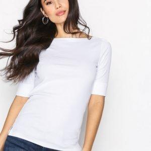 Lauren Ralph Lauren Judy Top T-Paita White