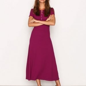 Lauren Ralph Lauren Kasya Short Sleeve Casual Dress Kotelomekko Berry