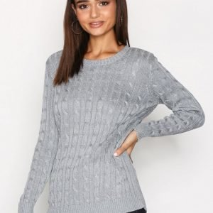 Lauren Ralph Lauren Kati Long Sleeve Sweater Neulepusero Grey