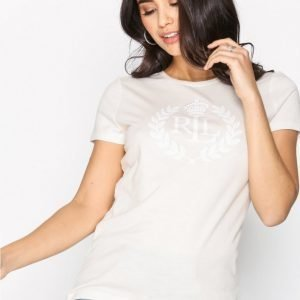 Lauren Ralph Lauren Katlin Knit T-Paita White