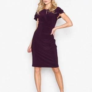 Lauren Ralph Lauren Kolbina Short Sleeve Day Dress Kotelomekko Purple