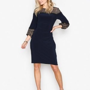 Lauren Ralph Lauren Libertine 3 / 4 Sleeve Day Dress Kotelomekko Navy