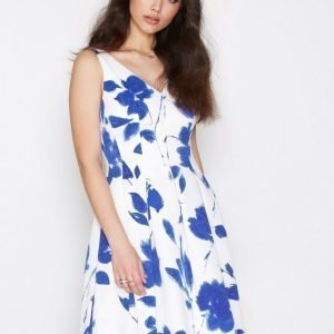 Lauren Ralph Lauren Marietta Sleeveless Dress Skater Mekko Cream