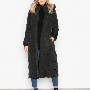 Lauren Ralph Lauren Maxi Down Fill Coat Untuvatakki Black