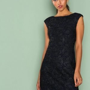 Lauren Ralph Lauren Montague Evening Dress Skater Mekko Navy