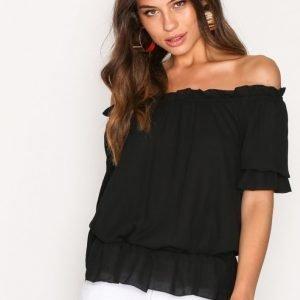 Lauren Ralph Lauren Ordisty Elbowsleeve Shirt Arkipaita Black