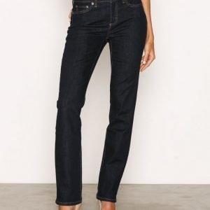Lauren Ralph Lauren Prm Straight-5-Pocket-Denim Skinny Farkut Blue