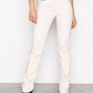 Lauren Ralph Lauren Prm Straight Pant Housut Cream