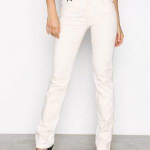 Lauren Ralph Lauren Prm Straight Pant Housut Cream