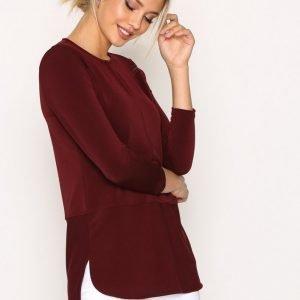 Lauren Ralph Lauren Sandylee 3 / 4 Sleeve Knit Juhlapusero Red
