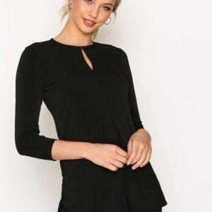 Lauren Ralph Lauren Sandylee 3 / 4 Sleeve Knit Svetari Black