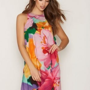 Lauren Ralph Lauren Vadrata Drape Dress Loose Fit Mekko Multi