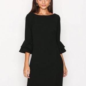 Lauren Ralph Lauren Valakis Elbow Sleeve Casual Dress Loose Fit Mekko Black