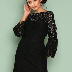 Lauren Ralph Lauren Yalie Dress Kotelomekko Black / White