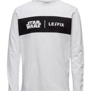 Le-Fix Collab Logo Ls pitkähihainen t-paita