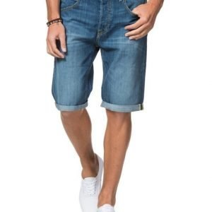 Lee 5 Pocket Short Blue Collective