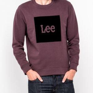Lee College Jossa Logo Violetti