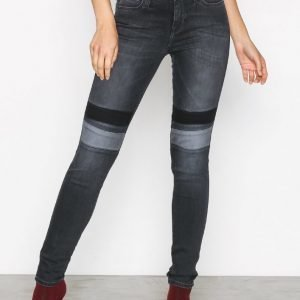 Lee Jeans Jodee Custom Knee Skinny Farkut Black