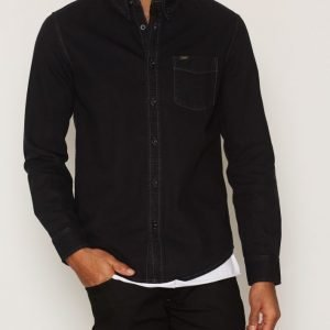 Lee Jeans Lee Button Down Kauluspaita Black